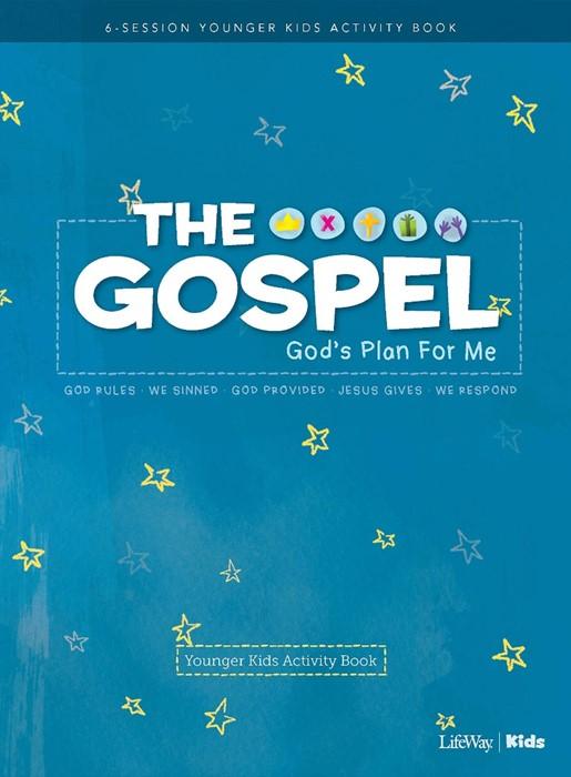 Gospel, The: God's Plan for Me Younger Kids Activity Book (Paperback)