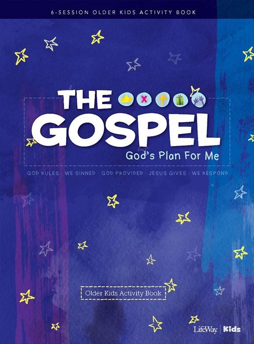 Gospel, The: God's Plan for Me Older Kids Activity Book (Paperback)