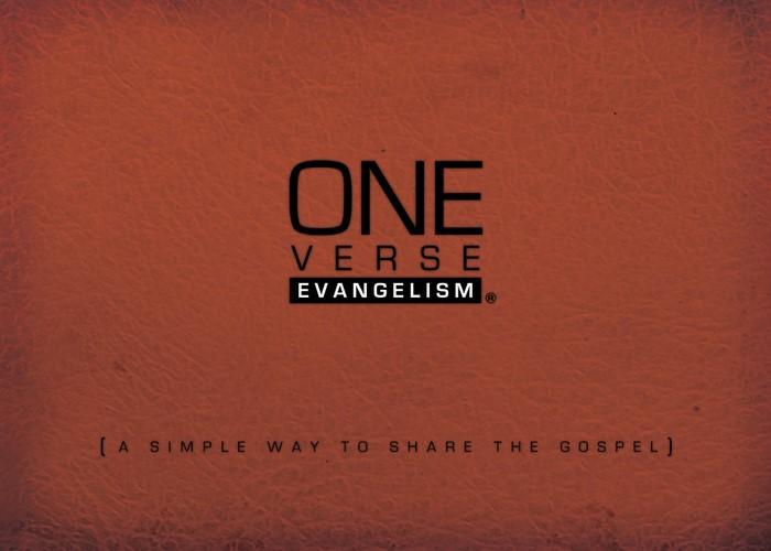 One-Verse Evangelism (Paperback)