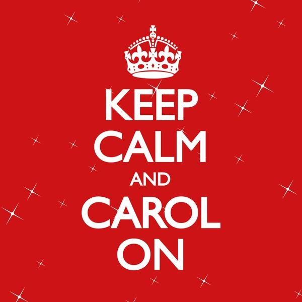Keep Calm and Carol On CD (CD-Audio)