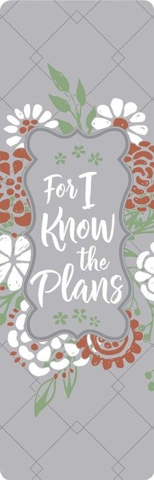 For I Know the Plans Bookmark (Bookmark)