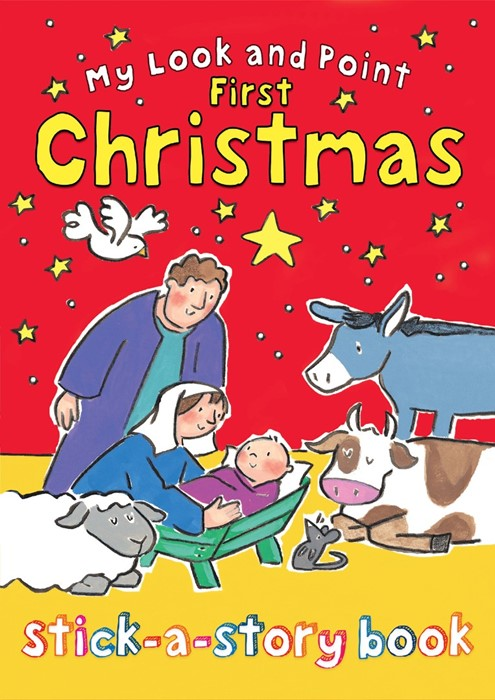 My Look And Point First Christmas Stick-A-Story Book (Paperback)