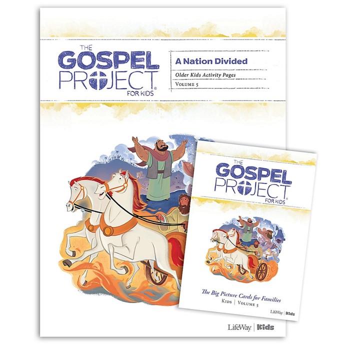 Gospel Project: Older Kids Activity Pack, Fall 2019 (Kit)