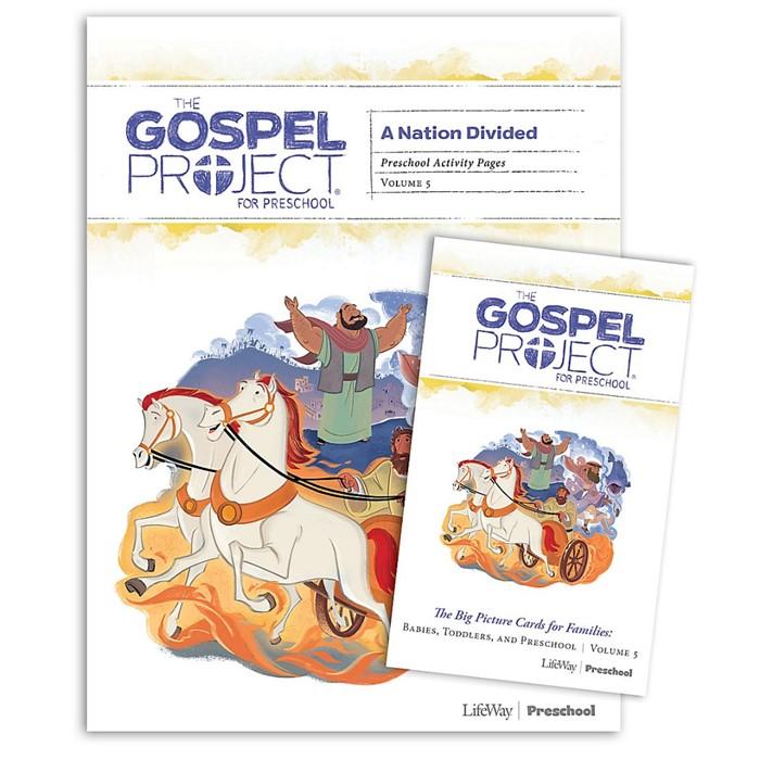 Gospel Project: Preschool Activity Pack, Fall 2019 (Kit)