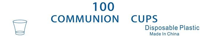 CLC Communion Cups - Pack of 100 (General Merchandise)