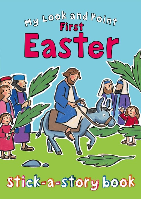 My Look And Point First Easter Stick-A-Story Book (Paperback)
