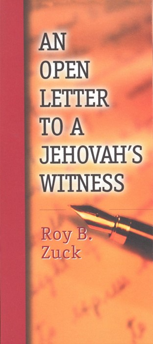 Open Letter to a Jehovah's Witness, An (Paperback)