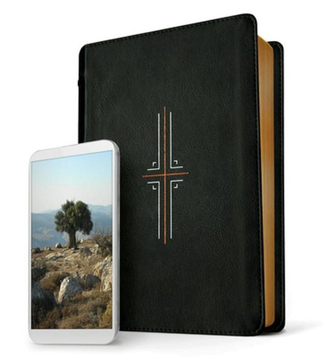 NLT Filament Bible, Black, Indexed (Imitation Leather)