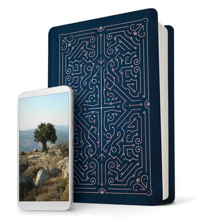 NLT Filament Bible, Blue (Imitation Leather)