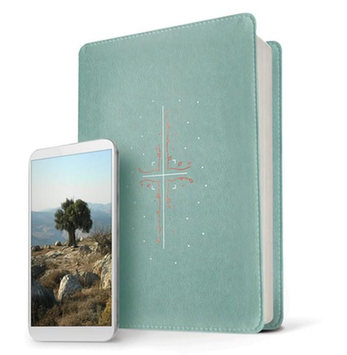 NLT Filament Bible, Teal (Imitation Leather)
