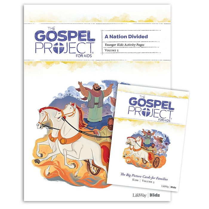 Gospel Project: Younger Kids Activity Pack, Fall 2019 (Kit)