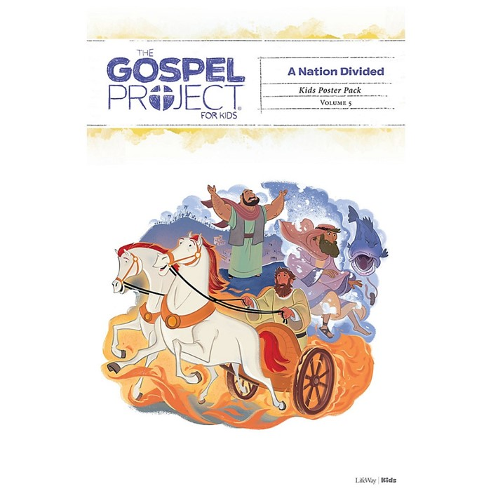 Gospel Project: Kids Poster Pack, Fall 2019