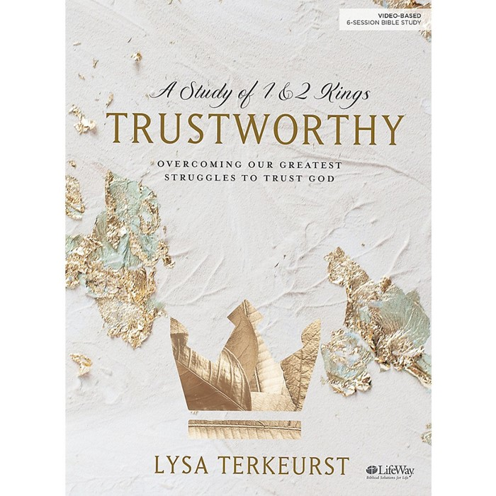 Trustworthy Bible Study Book (Paperback)