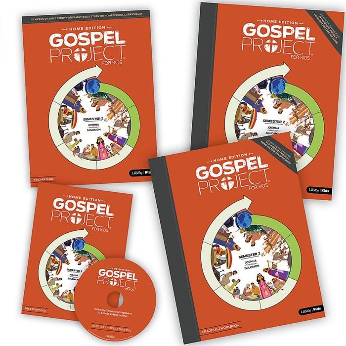 Gospel Project Home Edition: Leader Kit, Semester 2 (Kit)