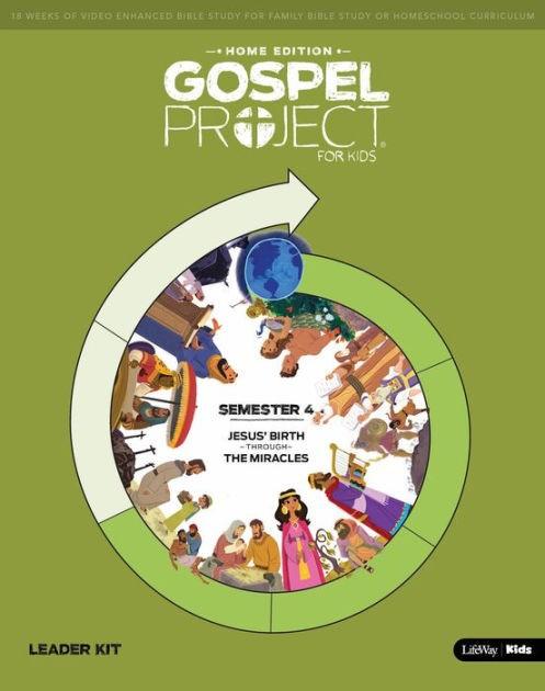 Gospel Project Home Edition: Leader Kit, Semester 4 (Kit)