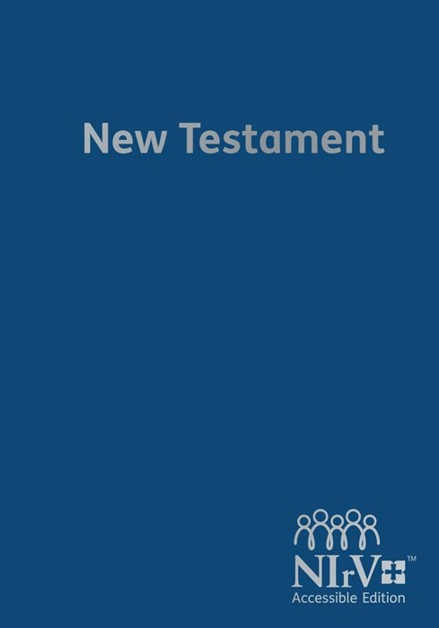 NIrV Accessible Edition New Testament (Hard Cover)