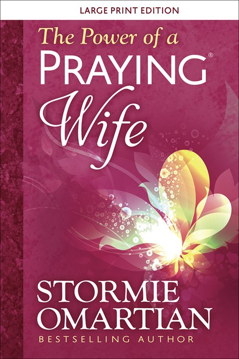 The Power of a Praying® Wife Large Print (Paperback)