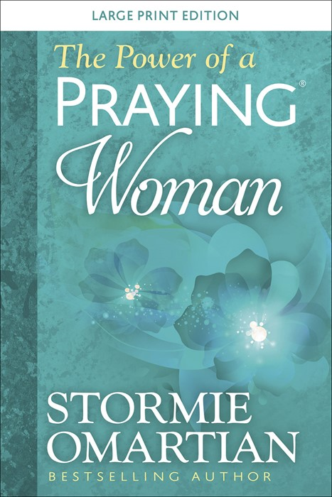 The Power of a Praying® Woman Large Print (Paperback)