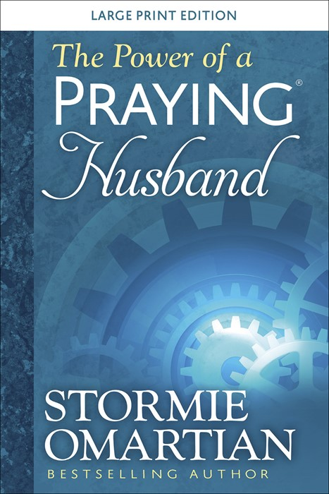 The Power of a Praying® Husband Large Print (Paperback)