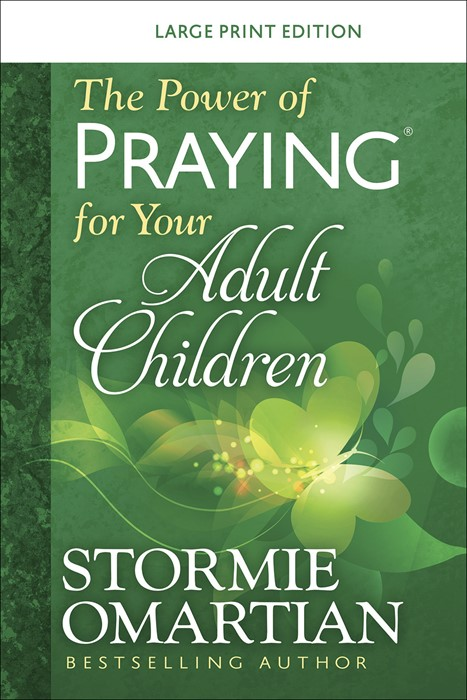 The Power of a Praying® for your Adult Children Large Print (Paperback)