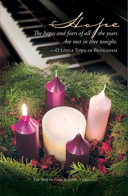 Advent Hope Bulletin (Pack of 100) (Bulletin)