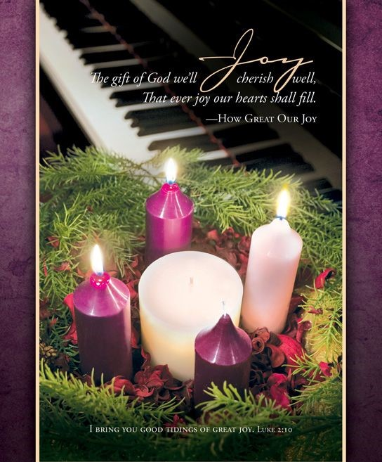 Advent Joy Bulletin Large (Pack of 100) (Bulletin)