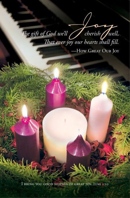 Advent Joy Bulletin (Pack of 100) (Bulletin)