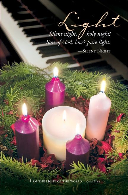 Advent Light of the World Bulletin (Pack of 100) (Bulletin)