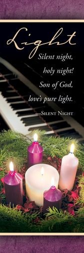 Advent Light of the World Bookmark (Bulletin)