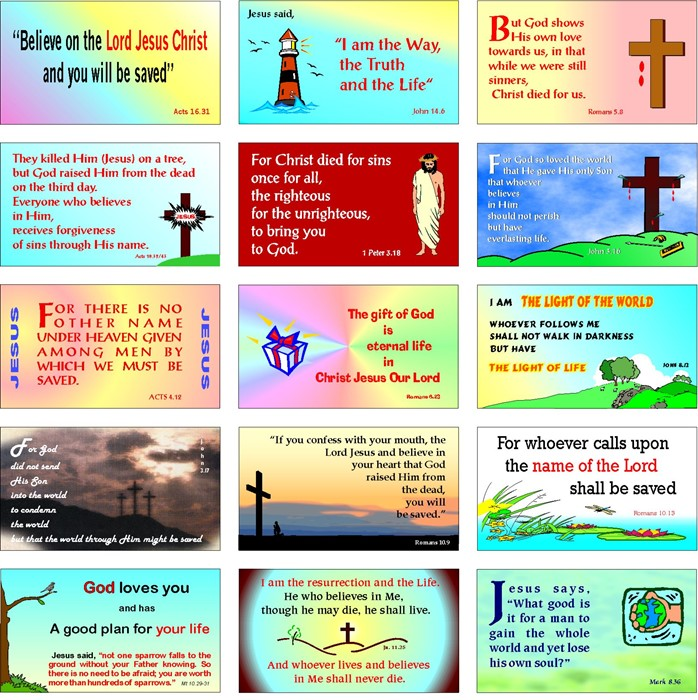 About My Father's Evangelistic Card (pack of 20) (Cards)