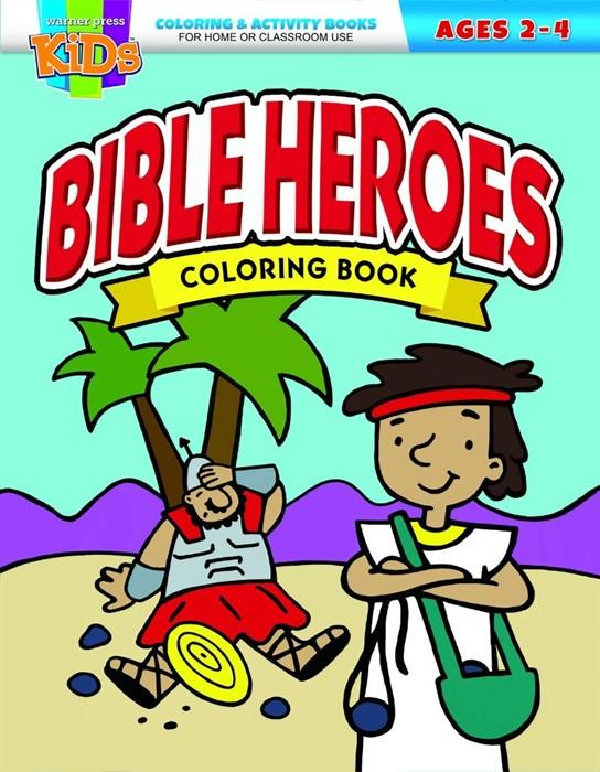 Bible Heroes Coloring Book (Paperback)