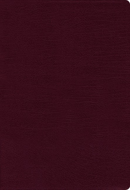 NASB Thinline Bible, Large Print, Burgundy, Red Letter Ed. (Bonded Leather)