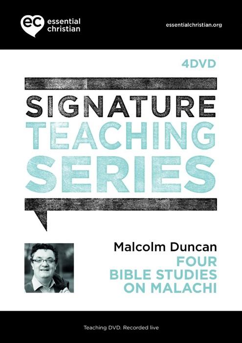 Signature Teaching Series: Malachi DVD (DVD)