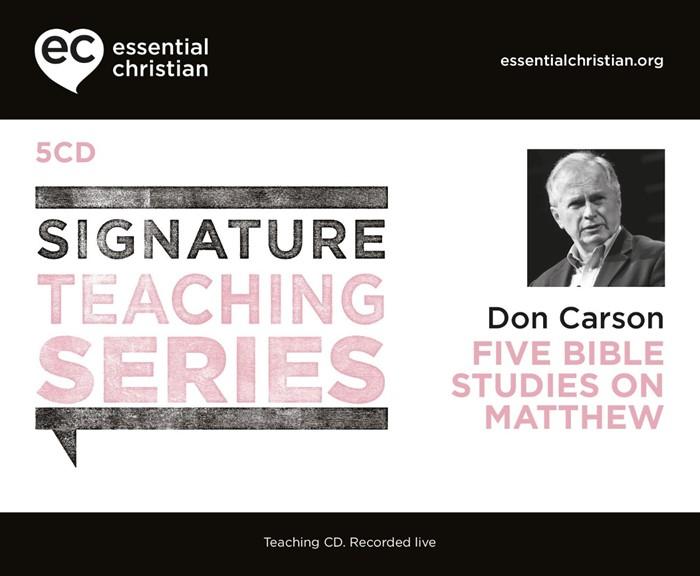 Signature Teaching Series: Matthew CD (CD-Audio)