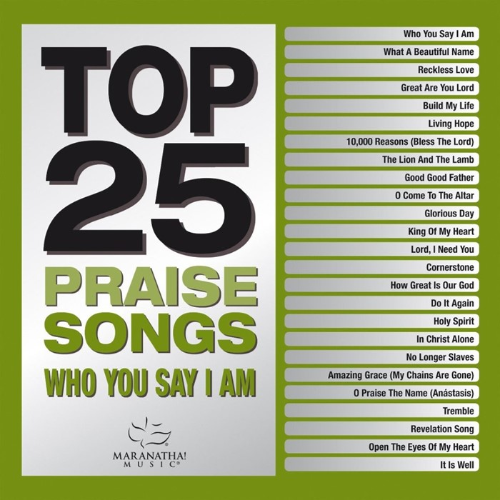 Top 25 Praise Songs CD (CD-Audio)