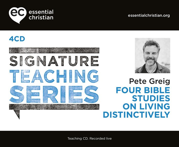 Signature Teaching Series: Living Distinctively CD (CD-Audio)