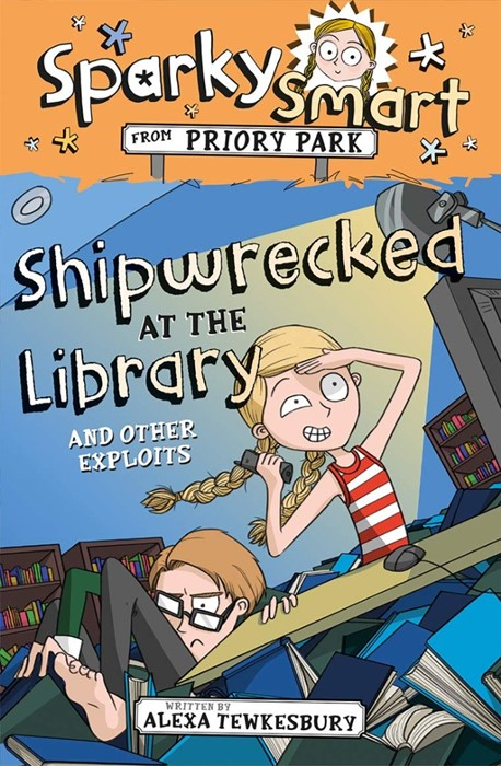 Sparky Smart from Priory Park: Shipwrecked at the Library (Paperback)