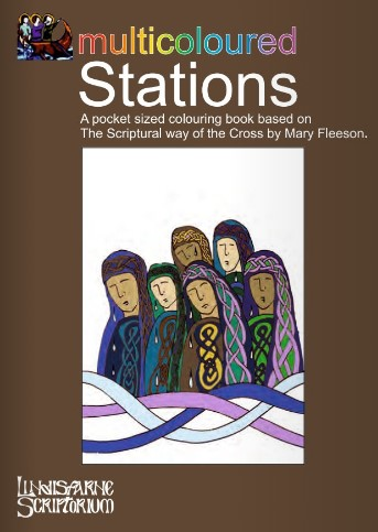 Multicoloured Stations Colouring Book