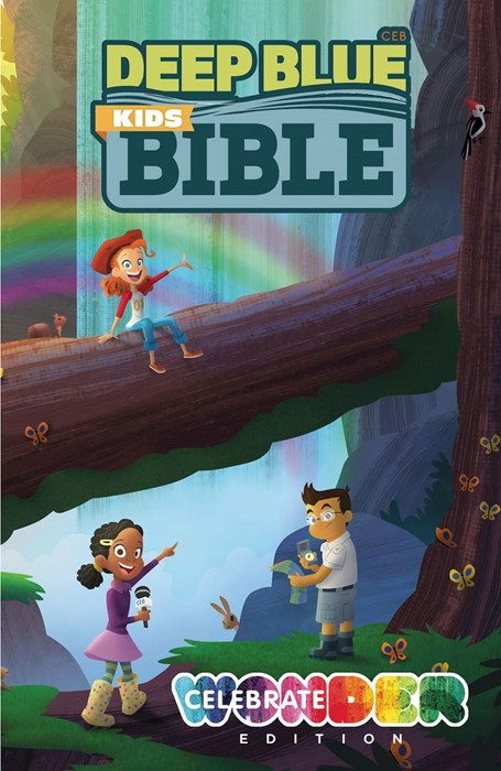 Deep Blue Kids Bible: Celebrate Wonder Edition (Hard Cover)