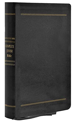 Complete Jewish Bible, Giant Print (Genuine Leather)
