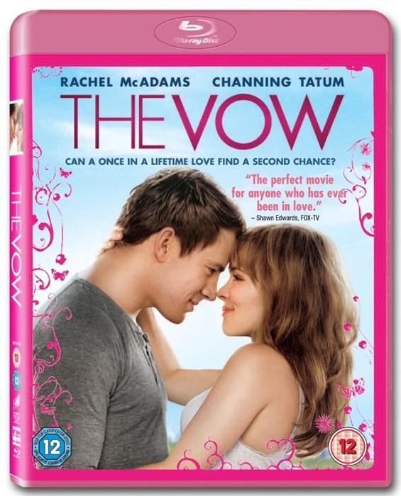 The Vow Blu-Ray DVD (DVD)