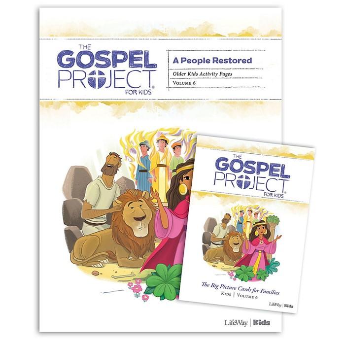 Gospel Project: Older Kids Activity Pack, Winter 2020 (Kit)