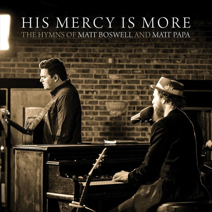 His Mercy is More (Live) CD (CD-Audio)