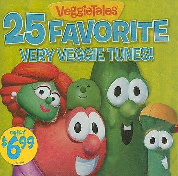 25 Favourite Very Veggie Tunes CD (CD-Audio)