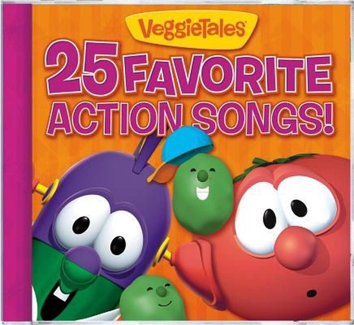 Veggietales 25 Favourite Action Songs (CD-Audio)