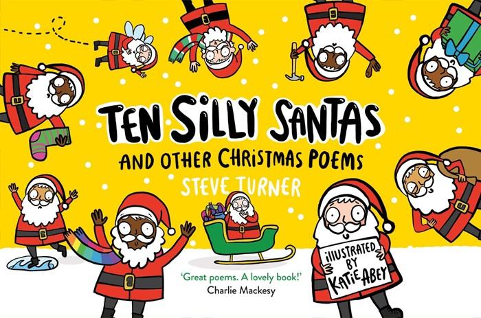 Ten Silly Santas (Paperback)