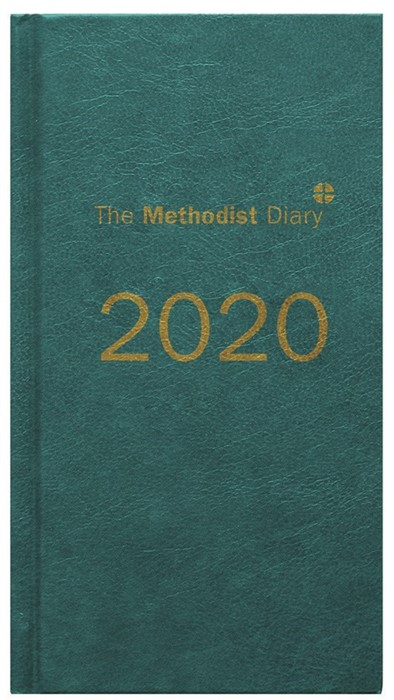 Methodist Diary 2020, Extended Edition Teal (Hard Cover)