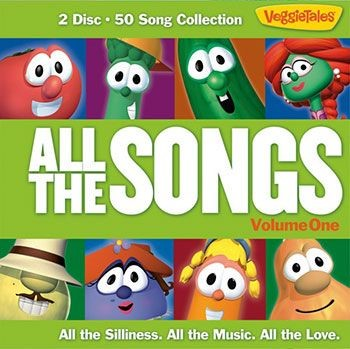 Veggietales All The Songs Volume One (CD-Audio)