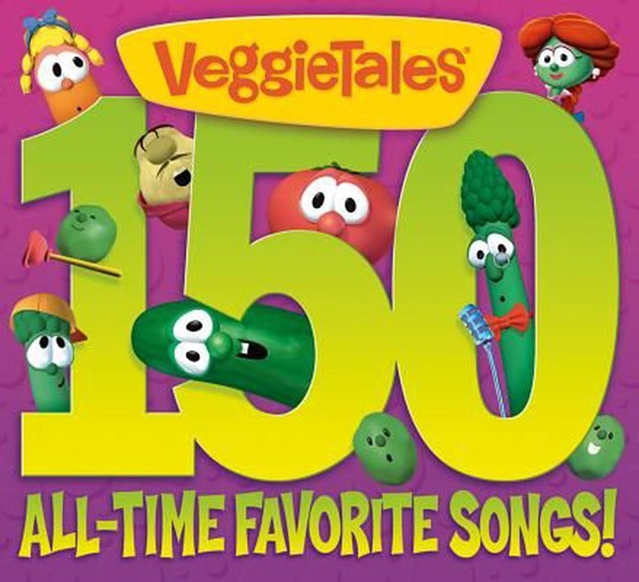 Veggietales: 150 All-time Favourite Songs 6 Disc (CD-Audio)