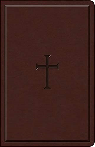 KJV Ultrathin Reference Bible, Brown LeatherTouch (Imitation Leather)